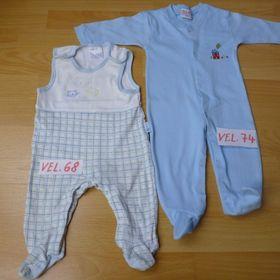 9a98a29abe3c Overal s dlouhým rukávem pyžamo 74 cm 9 - 12 m - Lednice