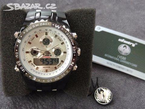 Pánské luxusní hodinky Infantry Aviator white - Kladno - Sbazar.cz ba2ceb33f6