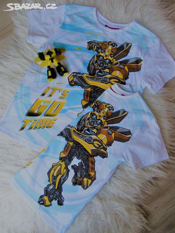 1b3cd87c4a71 SLEVA!!!! Tričko nové Transformers - Blansko - Sbazar.cz