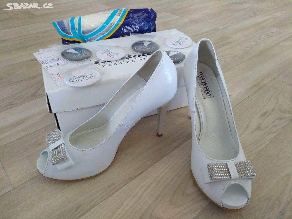 14d48719c54 NOVÉ svatební společenské boty LaBoda