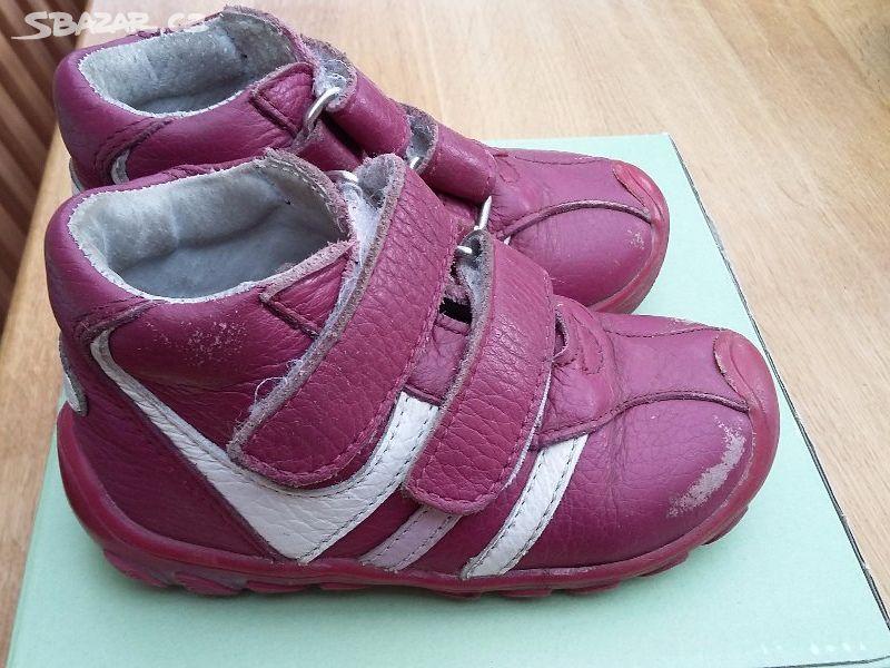 Kotníkové kožené boty DPK 9633281d4f