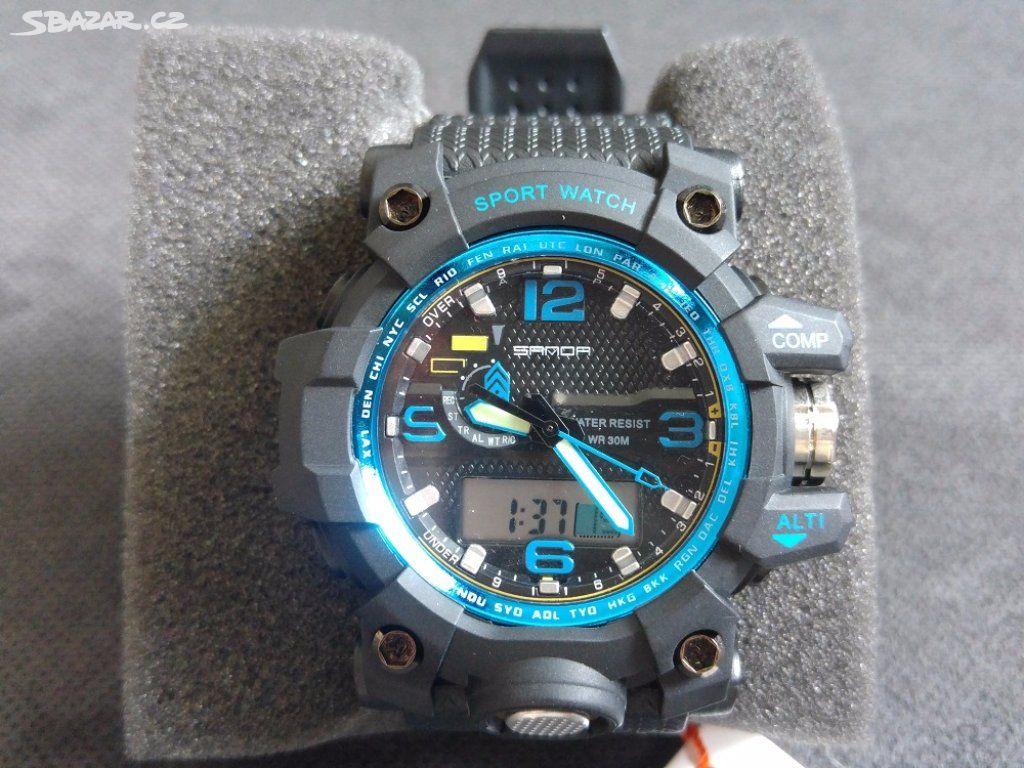 Sportovní pánské hodinky Sanda - 5 barev - Kladno - Sbazar.cz d769ac4d2b