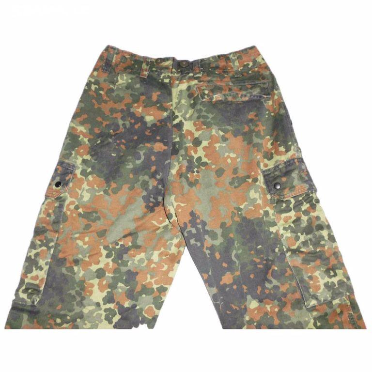 BW Bundeswehr vojenské kalhoty flecktarn orig - Blatná 10f63abc46