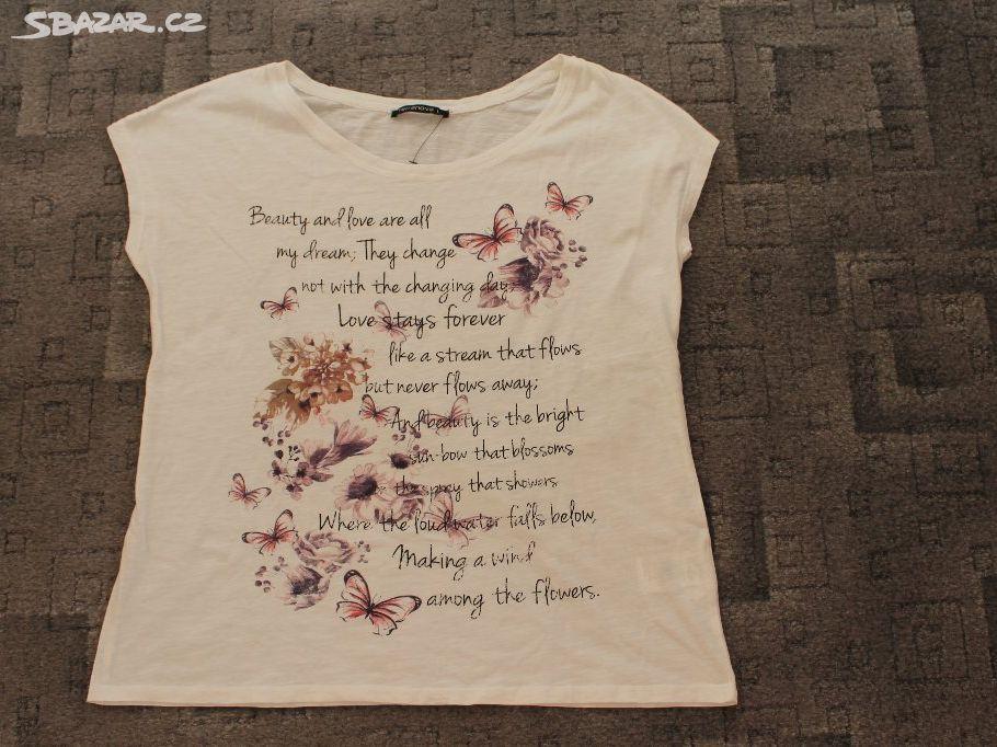 7fb37ceac25f Krásné dámské tričko - nové - Zašová