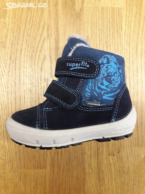 b852ab53e4d Dětské zimní boty nové Superfit Gore-tex 21