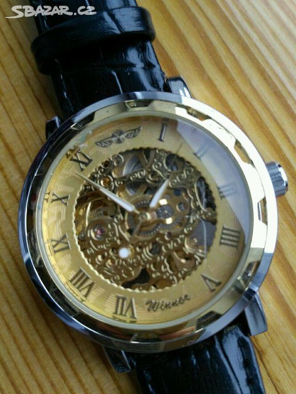 Nové značkové pánské mechanické hodinky ve - Blatná 38e9ab4fd2