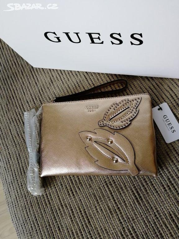 Guess zlatá kabelka do ruky crossbody kabelka - Moravský Beroun ... b28e94a3555