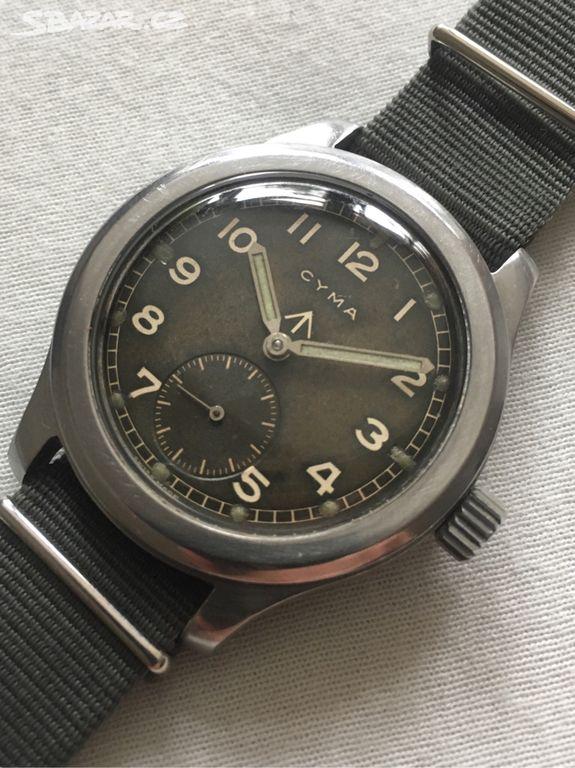 bdc76562b Vojenské hodinky CYMA WWW british military - Hostivice, Praha-západ ...