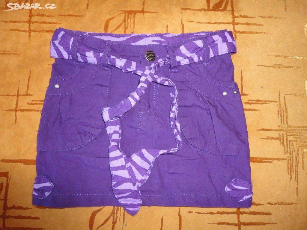 b1f1e31d38e Fialová sukně - Slušovice