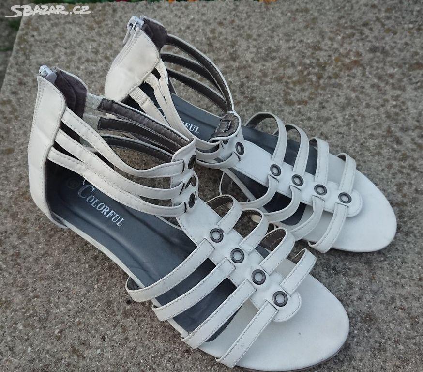 abf6c414e814 Dámské páskové sandály