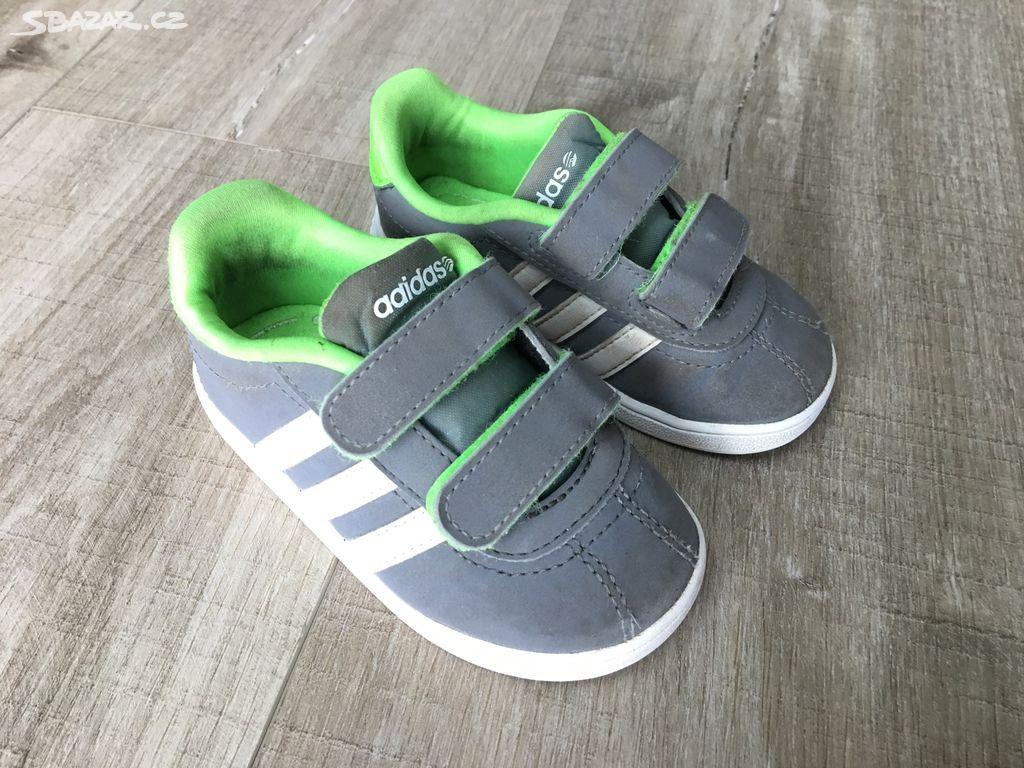 9f6ebea366a Dětské boty Adidas Neo vel. 21 - Říčany