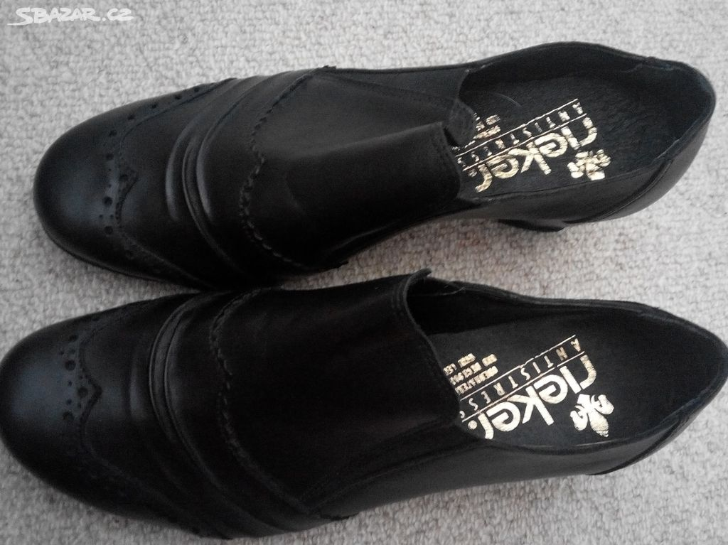 Dámské boty Rieker vel 37 - Divec 7b88aa43a1