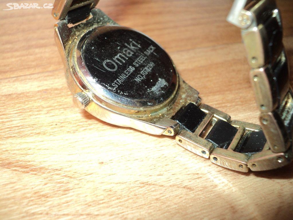 Předchozí obrázek. Následující obrázek. 2 fotografie. Inzerát byl odebran z  oblíbených. Cena  250 Kč. Nabízím dámské hodinky zn.  OMAKI aa6670323c