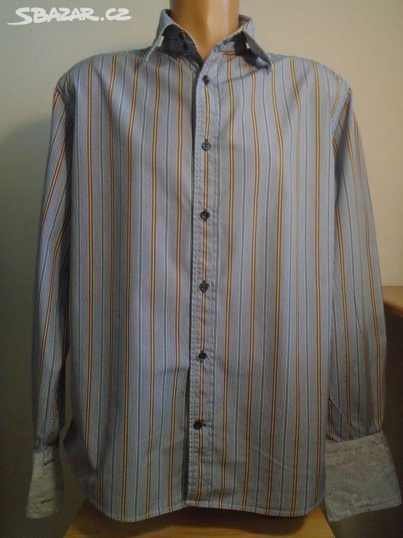 Pánská košile na manžety Faconnable v.L 2x59cm - Stráž pod Ralskem ... 1008e1a4d0