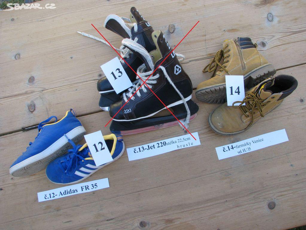 b3484153dcd Dětské boty a brusle - Radošovice