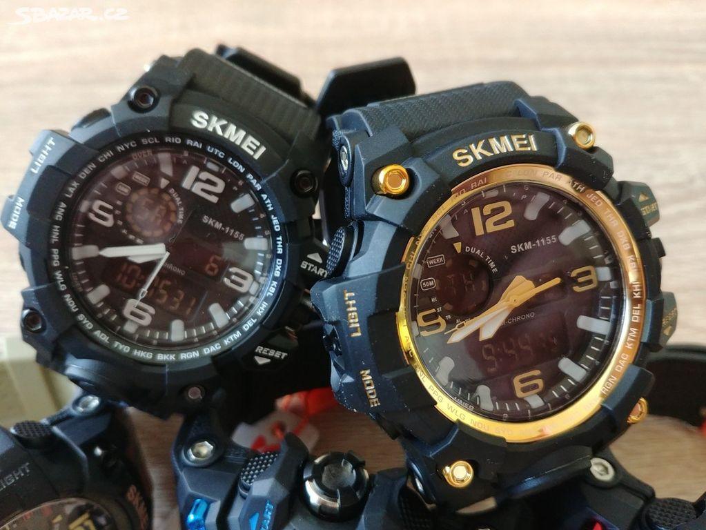 d3dc7251217 Sportovní značkové hodinky Skmei - 5. barev - Kladno - Sbazar.cz