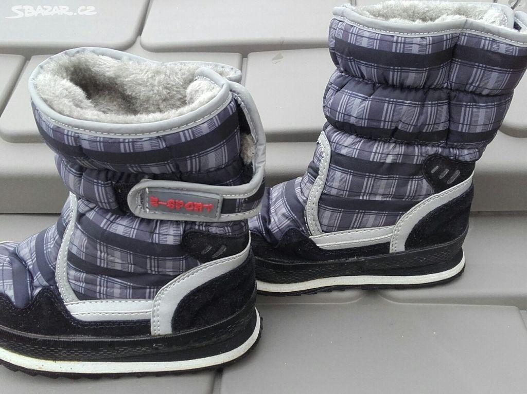 2ab0a1a0059 Zimní boty (sněhule) vel. 29 - Horoušany