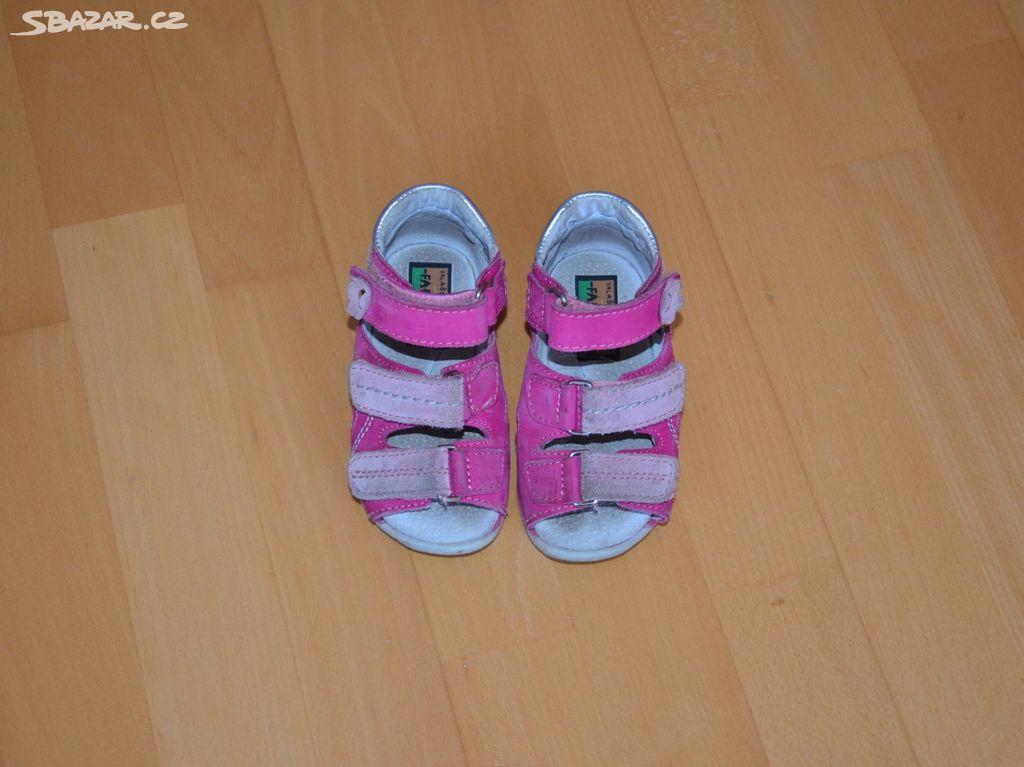 Dívčí sandále zn. Fare 887cb14f85