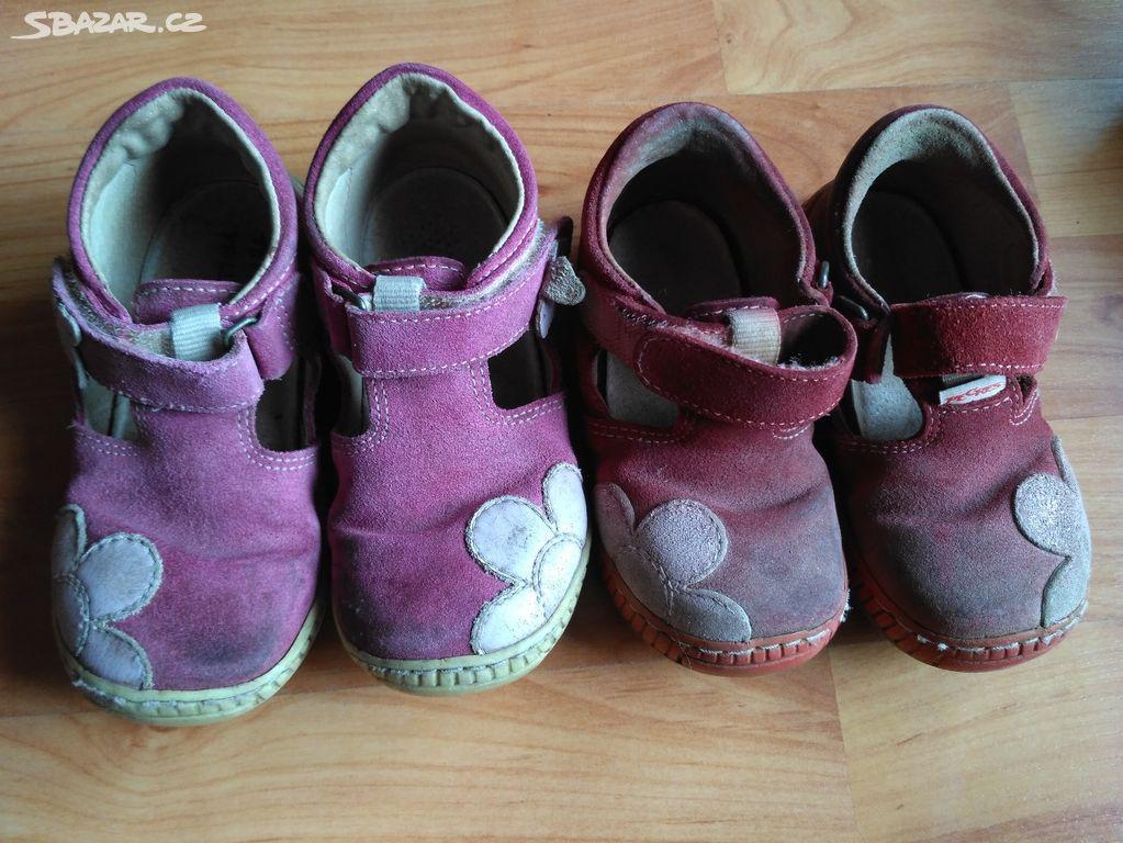 Dětské boty botičky 23 a 25 Pegres zdravotní 0b36b84a93