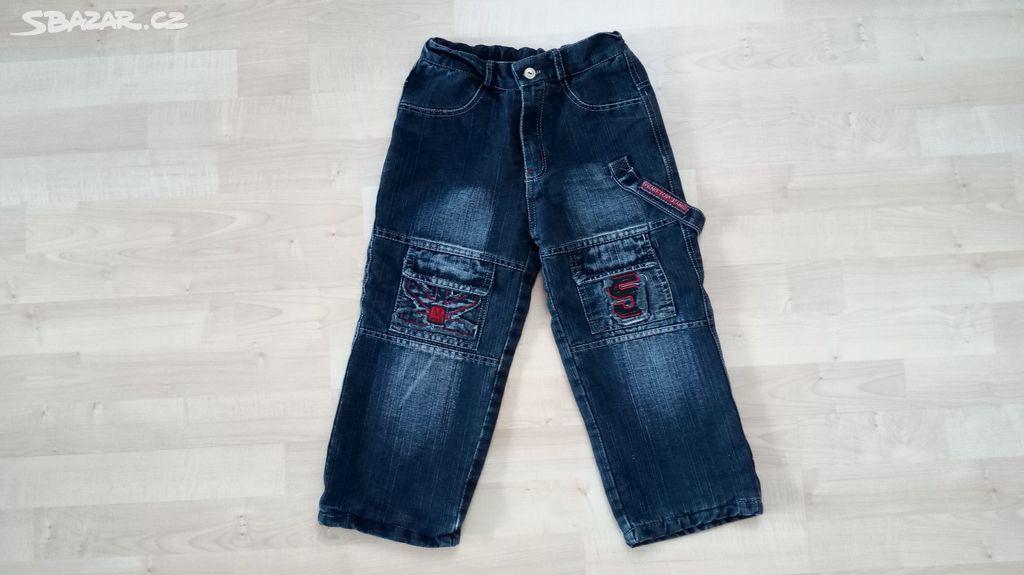 Chlapecké zateplené kalhoty 6cd091eeb3