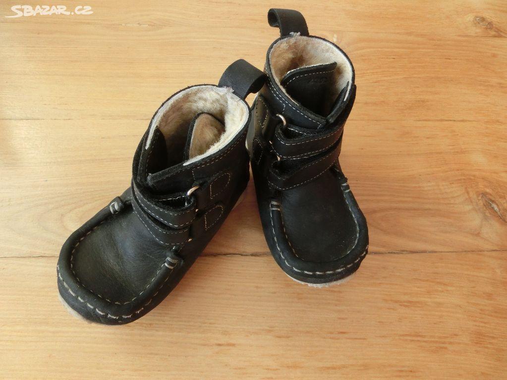 01b5eab05b8 Zimní barefoot boty ZEAZOO Yeti jako nové 21 22 - Hranice