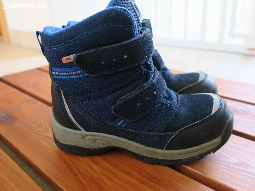 Zimní boty Reima s membránou 74e2ed117d