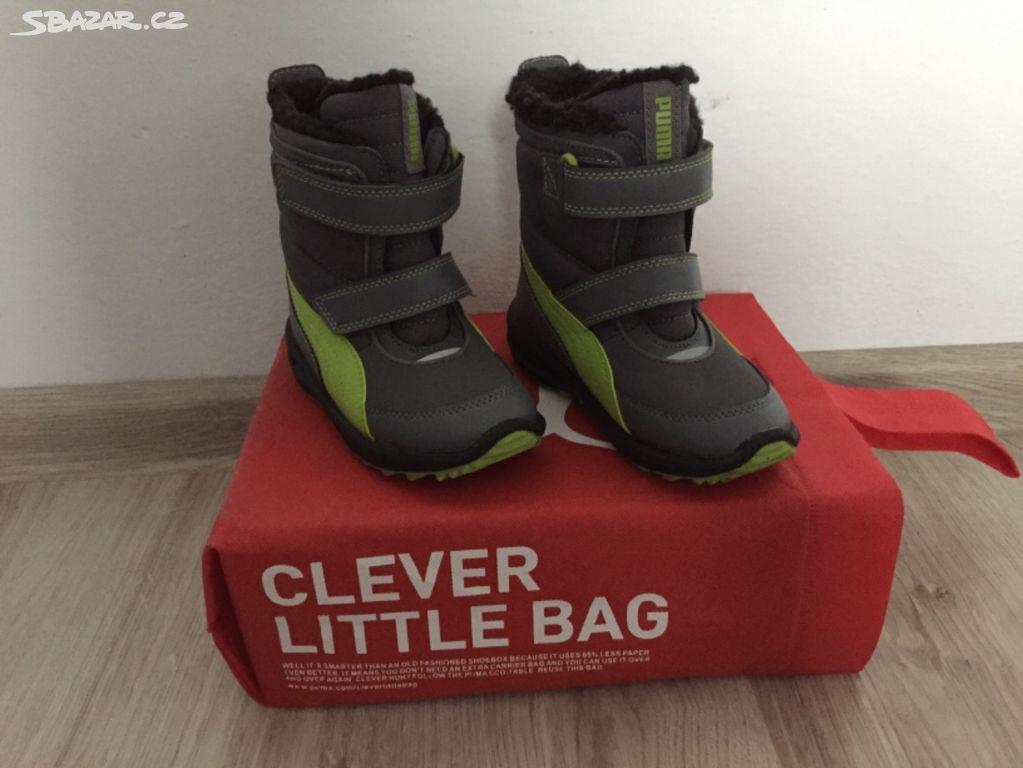 Dětské zimní boty Puma vel. 26 nové - Český Těšín 018df73c69
