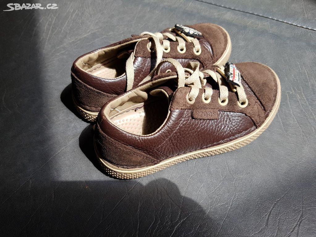 b9b46943900 Dětské boty CROCS na zavazování originál - Lipůvka