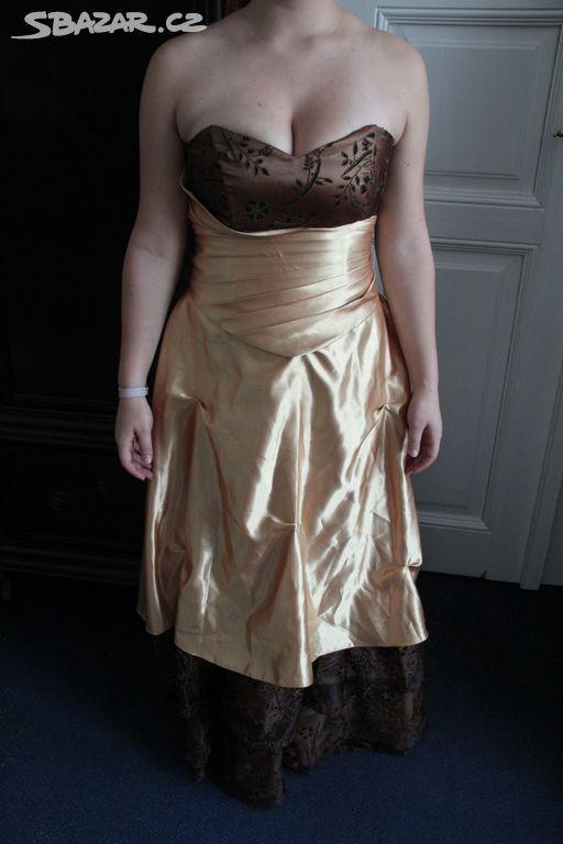 E069. Plesové šaty (korzet se sukní) vel. 40-42 - Kolín - Sbazar.cz 83764cc0905
