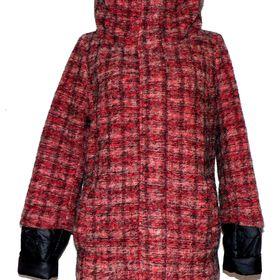 Dámský červenošedočerný zimní kabát STREET ONE .40. Inzerát byl odebran z  oblíbených. 58f25ab8d38