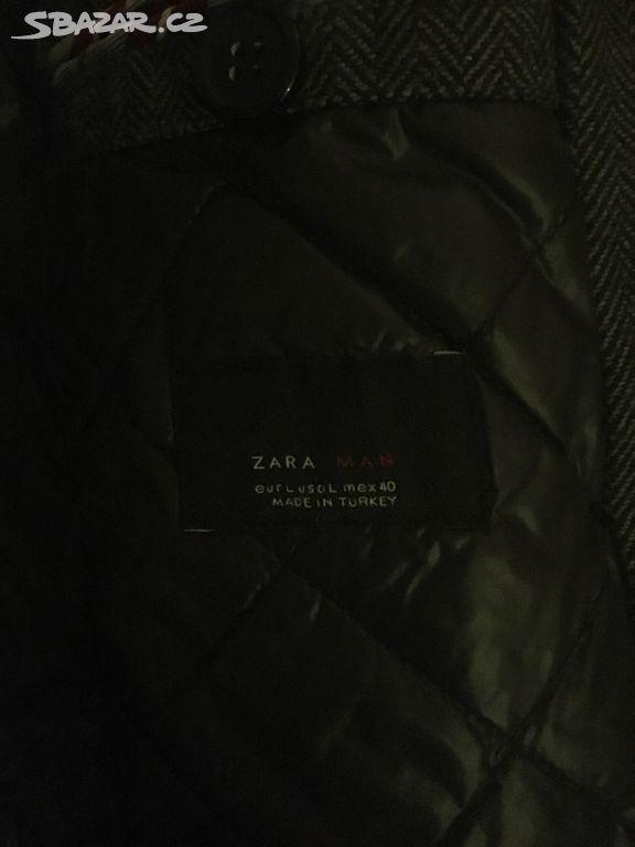 27d9f01df2 Pánský kabát Zara - Praha - Sbazar.cz