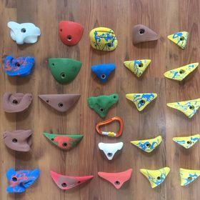 Lezecké chyty 40 kusů . Chyty prodávám - Litvínov b1b02b59224