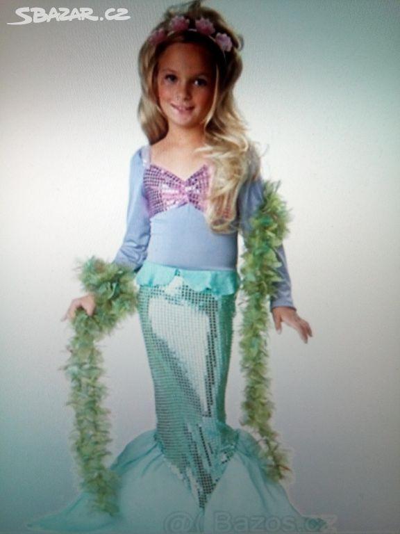 Dětský karnevalový kostým Ariel malá mořská víla - Jeseník - Sbazar.cz 874d55a02e1