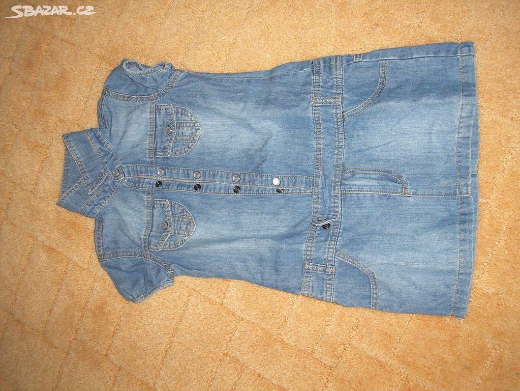 f8bd85bf667f Prodám dětské džínové šaty - Nová Ves u Chýnova