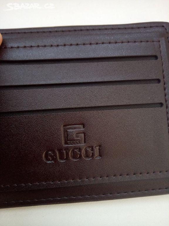 GUCCI+++ Nová kožená pánská peněženka - Český Brod 6b31cf96f3