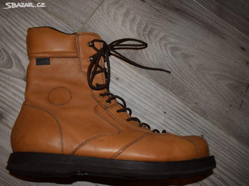 85980b52696 kožené vypolstrované kotníčkové boty Vagabond