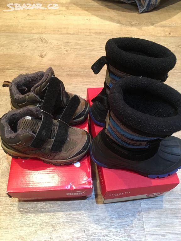 Dětské zimní boty vel 25 - Plzeň - Sbazar.cz 0ae6c06b0a
