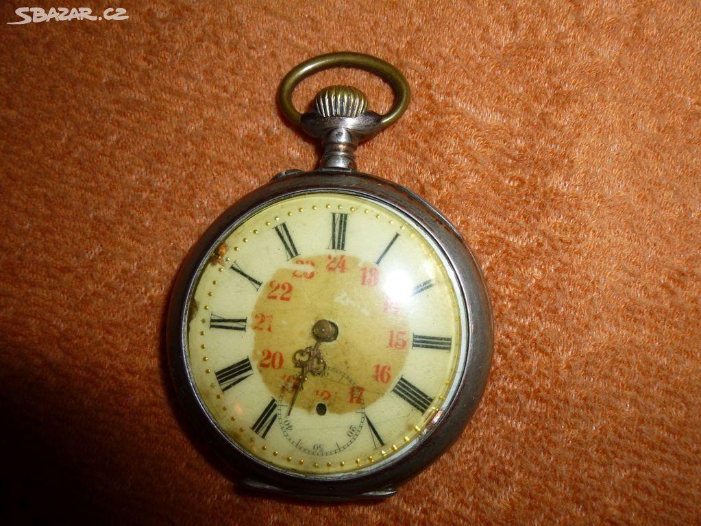 Starožitné stříbrné kapesní hodinky- cibule - Opava - Sbazar.cz b95f1a369ed
