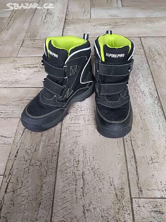 Zimní boty Alpine pro - Velichovky 900d9e66b5