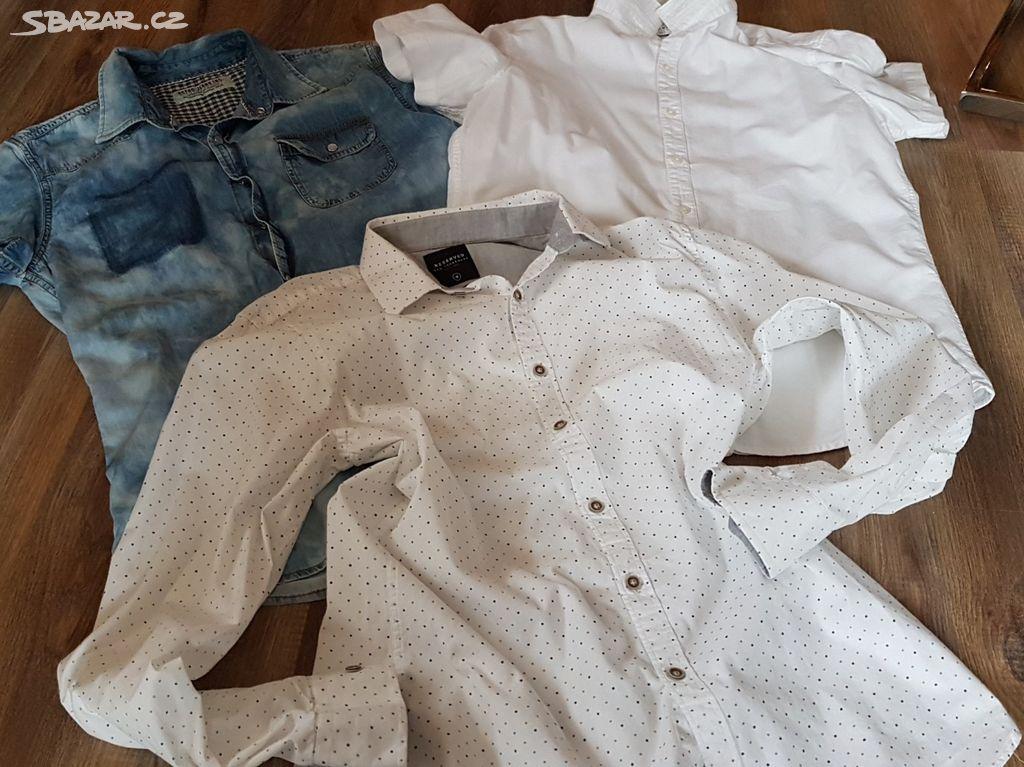 Prodám pánské košile vel.M L Reserved 87d5f7c73a