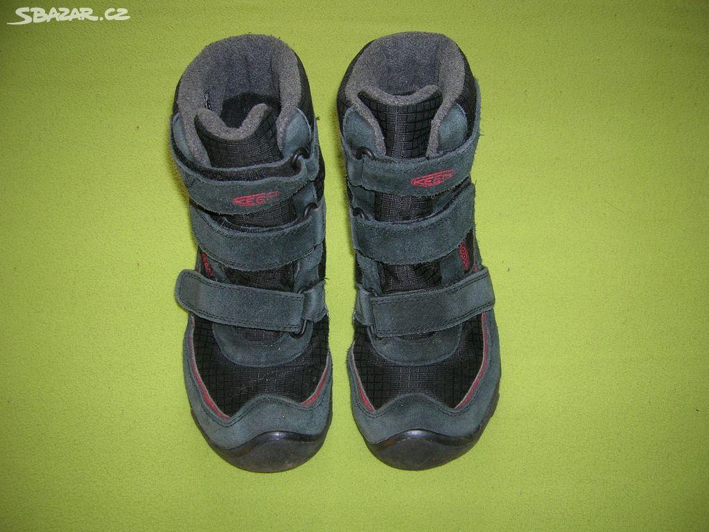 Zimní boty Keen vel. 33 01b6bc442d