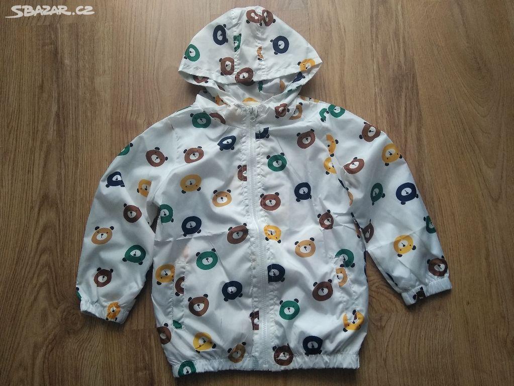 Šusťáková bunda s medvídky d162050f73