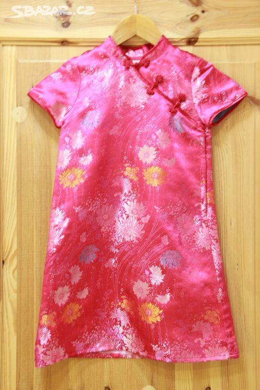 bca3fae83331 Tradiční čínské šaty   kostým H M - vel. 128 - Holešov
