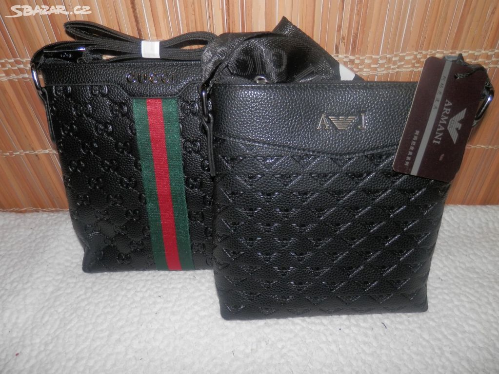 8ef8835269 Pánská taška - Gucci nebo Armani - Teplice - Sbazar.cz