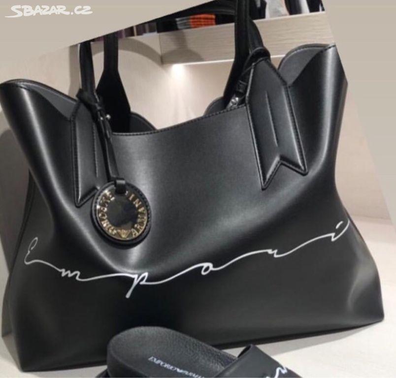 1240a9ce3 Luxusni shopper bag Kabelka Emporio Armani. Inzerát byl odebran z  oblíbených.