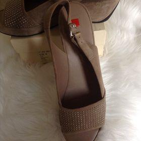 c40abac0b8fa Výpis nabídek. Nové kožené sandálky Högl vel.