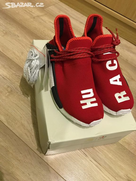 best website d8fb5 1fd59 Adidas Human race Red vel 42 - Brno-město