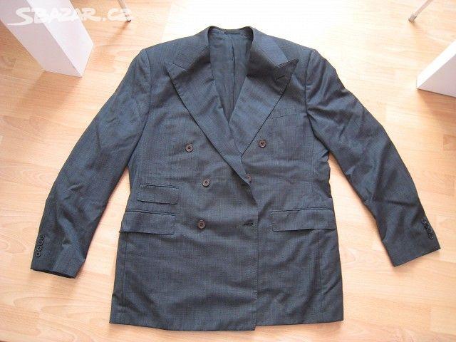 Prodám pánský dvouřadý oblek a0c6dc4c6d