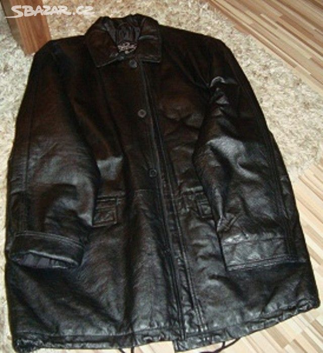 Nová pánská kožená bunda velikost L 52b0147f020
