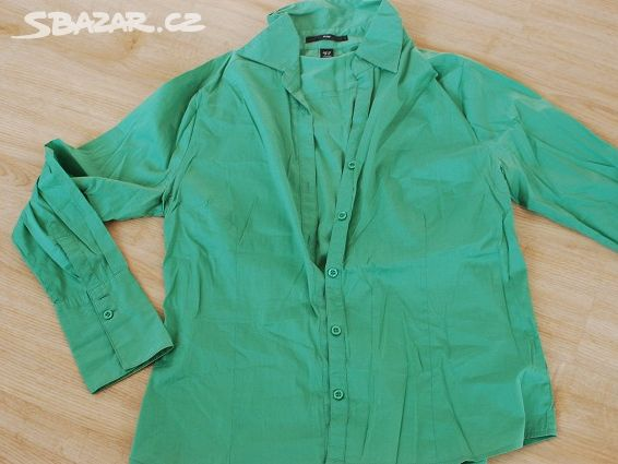 Krásně zelená košile HM 57f7325a73